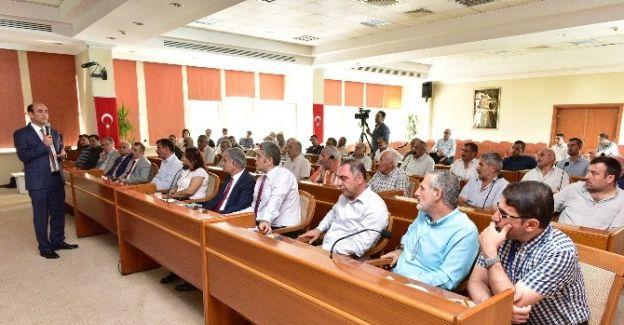 Edebali, Mevlana kentsel dönüşüm projesini halka anlattı