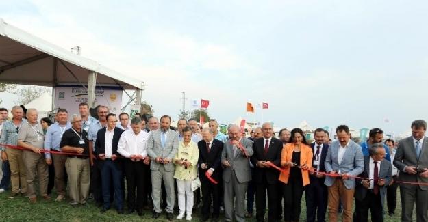 Karaevli Tarım ve Teknoloji Günleri Fuarı açıldı