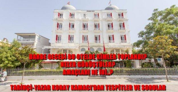 Tarihçi-Yazar Koray Kamacı'dan; Darbe Gecesi Büyükada'daki Toplantının Şifreleri..