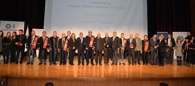 Tarım öğretiminin 171. yılı Uludağ Üniversitesi'nde kutlandı
