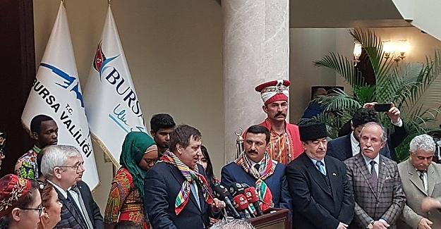 Bursa'da Nevruz bayramı törenlerle kutlandı