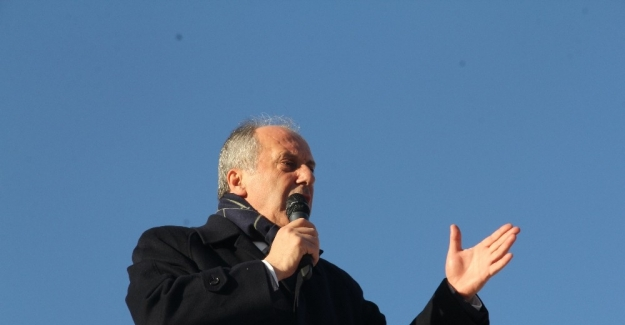 CHP'li İnce, Çorum'da halka hitap etti