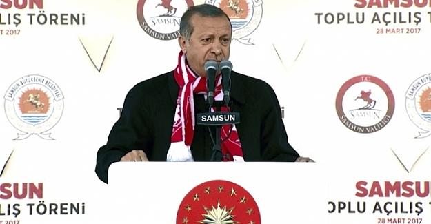 "Cumhurbaşkanı Erdoğan, ""Hayır çadırı"" diyalogunu anlattı"