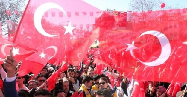 """Cumhurbaşkanı Erdoğan: """"Ne kadar uyumlu olursanız olun meclisi bombalıyorlar"""""""