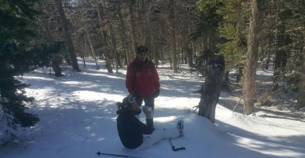 Uludağ'da kaybolan kadın kayakçı ayak izlerinden bulundu