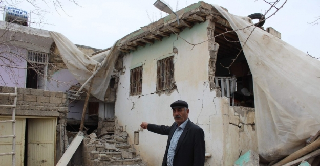 Deprem kırsaldaki yapılara zarar verdi