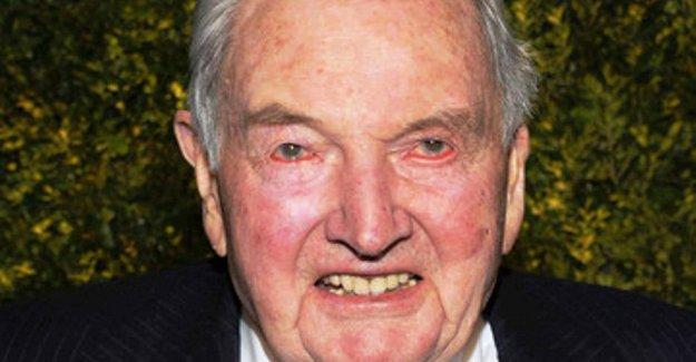 Dünyanın tepesindeki milyarder  patronlardan David Rockefeller hayatını kaybetti
