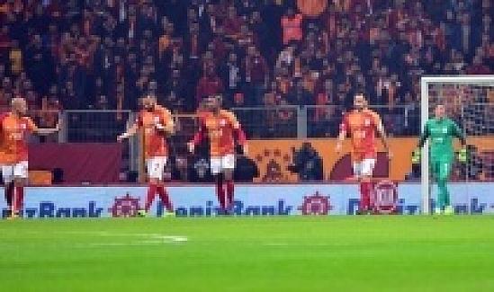 Galatasaray, Gençlerbirliği'ni 3-2 mağlup etti.