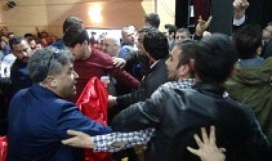 Prof. Dr. Yusuf Halaçoğlu ve Prof. Dr. Ümit Özdağ'ın konferansına saldırı !..