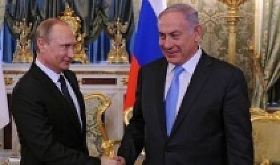 Putin ve Netanyahu, Moskova'da görüşecek