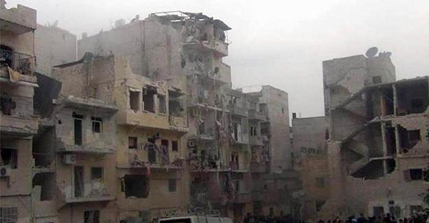 Suriye rejiminin bombaladığı Humuz El Waar'dan sivil halk tahliyeleri başladı