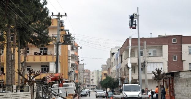 Suriye sınırındaki Akçakale ilçemiz kameralarla gözetlenecek