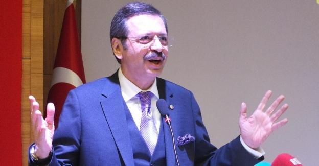 """TOBB Başkanı Hisarcıklıoğlu """"Girişimcilik"""" konferansına katıldı"""