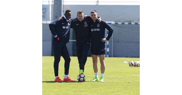 Trabzonspor, Çaykur Rizespor maçı hazırlıklarını sürdürdü