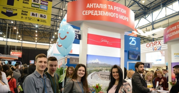 Ukrayna Turizm Fuarı'nın yıldızı Antalya