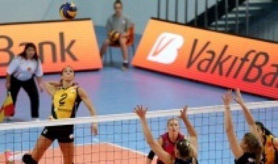 Vakıfbank Çanakkale Belediyesini 3 - 1 yendi