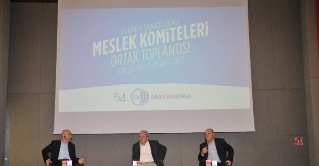 ASO Meslek Komiteleri Ortak Toplantısı Eskişehir'de yapıldı