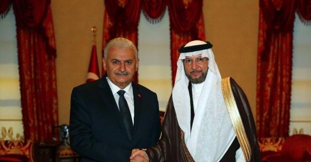 Başbakan Yıldırım, İslam İşbirliği Teşkilatı Genel Sekreterini kabul etti
