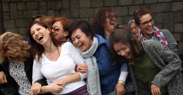 Ankara'lı gençler hem güldüler hem de güldürdüler