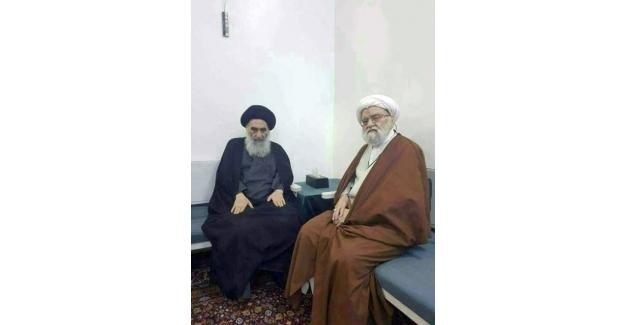Irak Şiilerinin dini lideri Ali Sistani yıllar sonra yeniden görüntülendi
