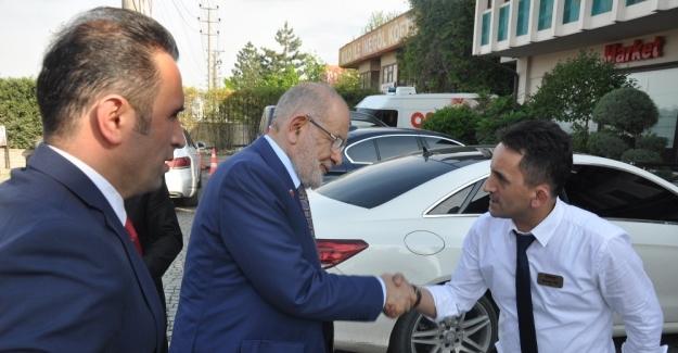 """SP lideri Karamollaoğlu: """"Siyasette tıkanma var"""""""