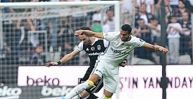 Spor Toto Süper Liginde Beşiktaş - Fenerbahçe : 1 - 1