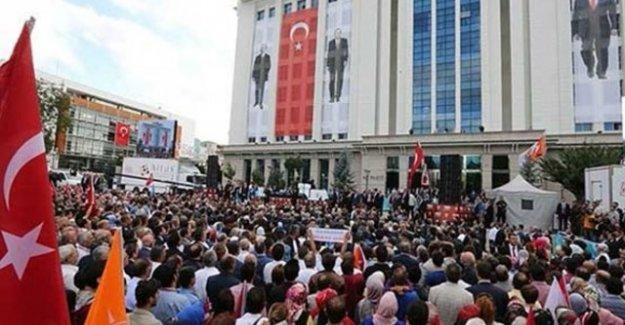 AK Parti'nin kuruluşunun 16. yıldönümü kutlandı