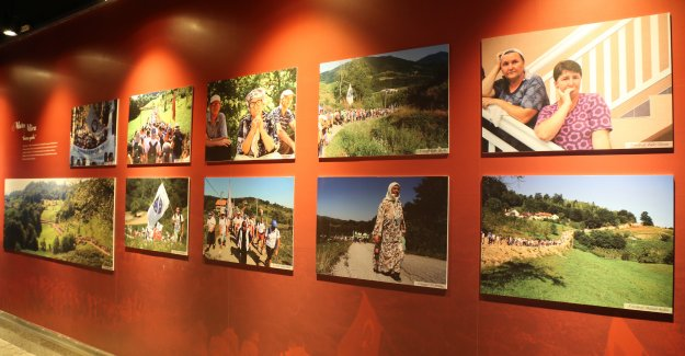 'Soykırımın 22. Yılında Srebrenica' adlı fotoğraf sergisi, Bursa Kent Müzesi'nde