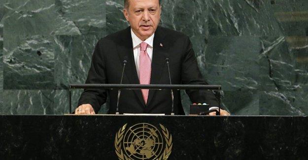 """Erdoğan BM kürsüsünde: """"Suriye halkını uluslararası toplum yalnız bıraktı"""""""