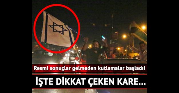 İsrail Bayrağı açtılar