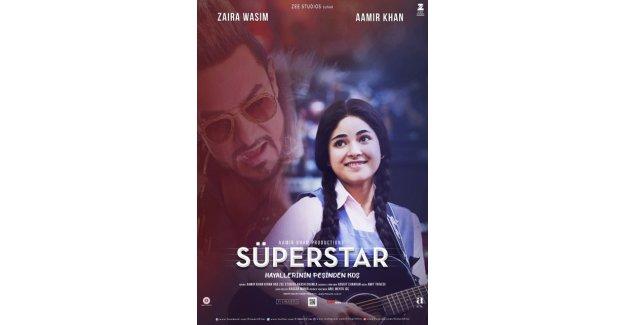 """Amiir Khan'ın müzikal harikası """"Süperstar"""" filmi vizyona giriyor"""