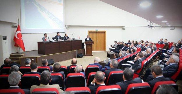 """Bursa Valisi Küçük; """"Bursa 758 Proje ile geleceğe hazırdır"""""""
