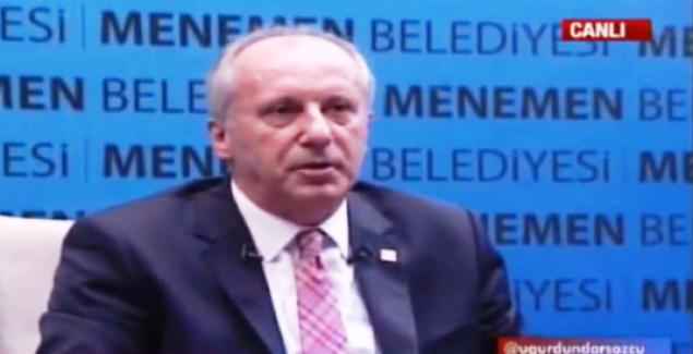 "CHP'li Muharrem İnce; ""Recep Recep'e karşı yakında karışacak bu çarşı"""