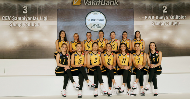 Dünyanın lider kulübü VakıfBank sezonu açtı