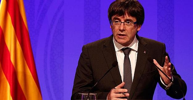 """Katalonya Başkanı; """"Bağımsızlık sürecini askıya almalıyız"""""""