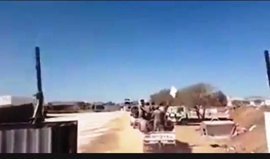 Özgür Suriye Ordusu idlib'te..