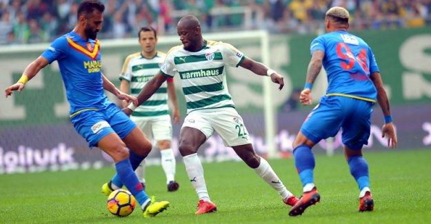 Bursaspor - Göztepe golsüz berabere kaldılar