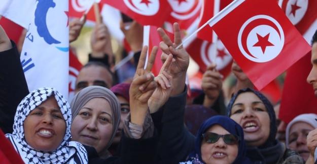 Arap Baharı'nın 7. Yılında Tunus'ta Protestolar