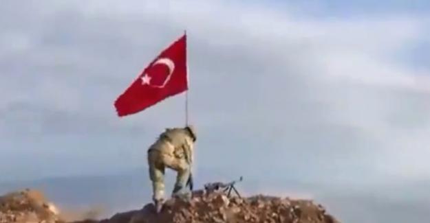 Darmık Dağı'na Türk Bayrağı dikildi !..