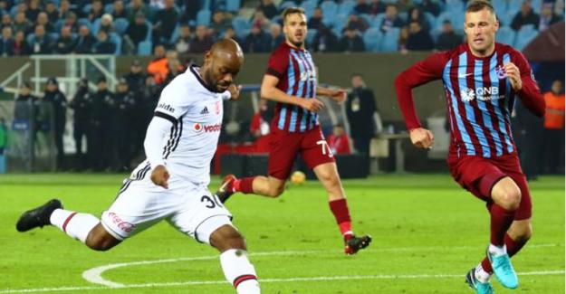 Beşiktaş Deplasmanda Trabzonspor'u 2-0 Mağlup Etti