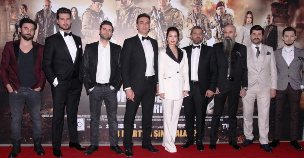 """""""Bordo Bereliler 2: Afrin""""  filminin galası yapıldı"""