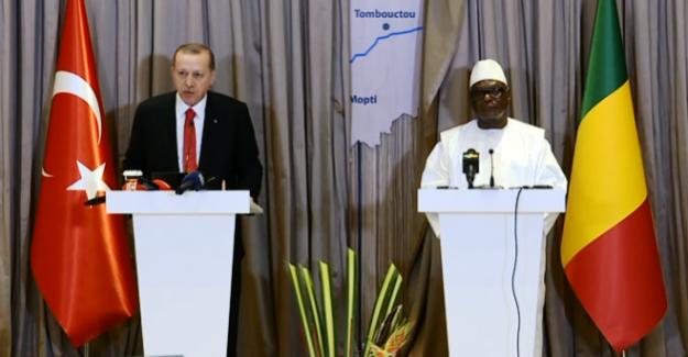 """Cumhurbaşkanı Mali'den seslendi; """"DEAŞ, El Kaide ve Boko Haram gibi örgütlerin öncelikli hedefi, her zaman Müslümanlar olmuştur"""""""