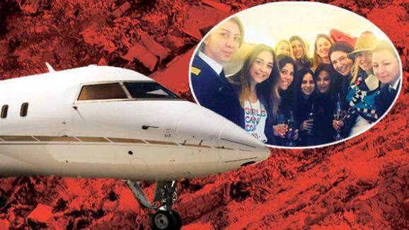 İran'da düşen ve 11 kadının yaşamını yitirdiği jet ile ilgili açıklama yapıldı