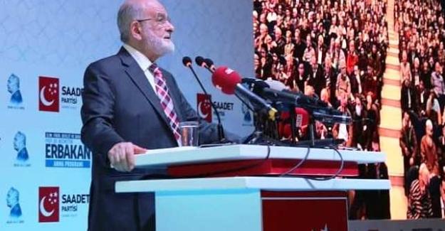 SP Lideri Karamollaoğlu İttifak Şartlarını Açıkladı