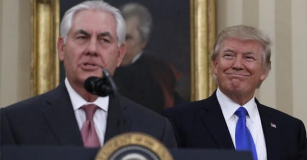 'Trump, Dış İşleri Bakanı Tillerson'u görevden aldı'