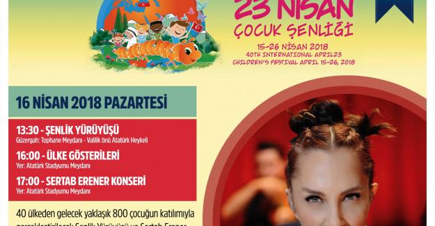 Dünya çocukları Bursa'da buluşuyor