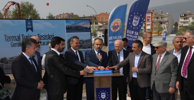 """Gemlik'e 16 milyon liralık yeni yatırım; """"Gemlik Termal ve Turizm Tesisleri"""""""