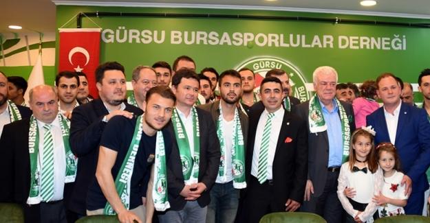 Gürsu Bursasporlular Derneği Lokali Açıldı