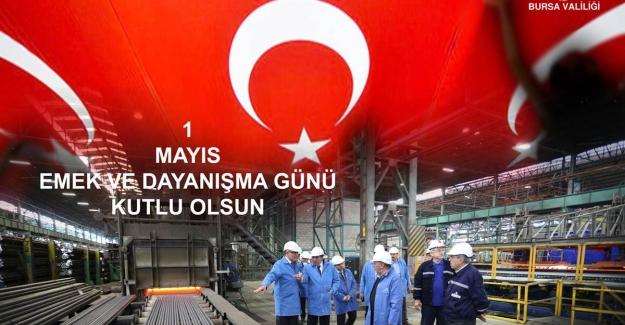 """""""1 MAYIS EMEK VE DAYANIŞMA GÜNÜ"""" coşkuyla kutlandı"""