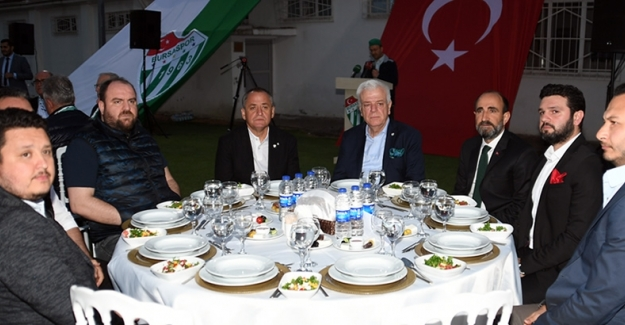 Bursaspor Yöneticileri iftar yemeğinde buluştular
